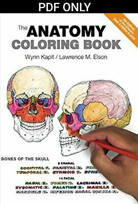 The Anatomy Coloring Book 4th Edition by Wynn Kapit, Lawrence M. Elson [PDF]