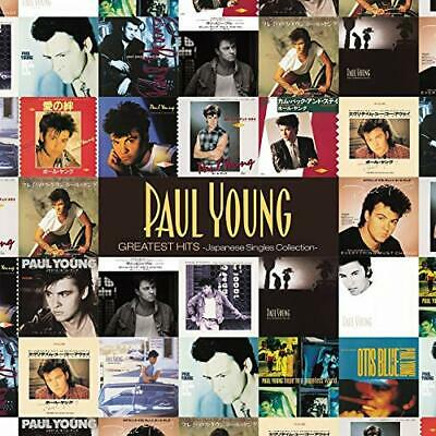 Pre: Paul Young Greatest Hits Japanese Single Collection CD Album & DVD