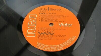 Mud ROCK ON 1978 UK LP 1st Press JUST 1-2 PLAYS EVER MINT MINUS AUDIO - LISTEN