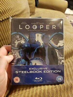 Looper Blu-ray Steelbook Edition [UK] OOS/OOP RARE MONDO
