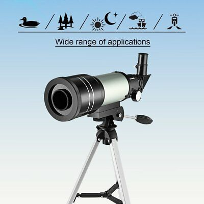 F30070m Monocular Beginner Astronomical Telescope Finderscope with Tri ll