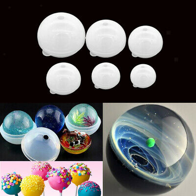 Silicone Jewelry Mould Resin Round Ball, DIY Pendant Mold Making Craft Tool