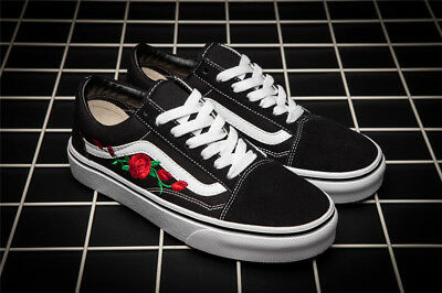 Neu VAN OLD SKOOL CUSTOM ROSE PATCH'EUR UNISEX Schuhe Gemeinsame Shoes