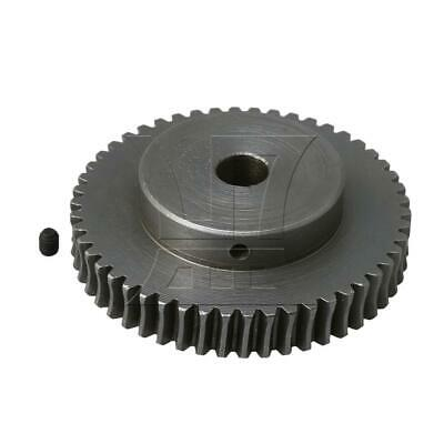 40T Steel Worm Gear 1:50 Speed Ratio 10mm Bore Replacement for Worm Reducer