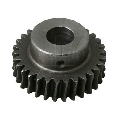 30T Steel Worm Gear 1:30 Speed Ratio 12mm Bore Replacement for Worm Reducer