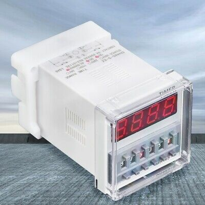 DH48S-S-2Z ProgrammableLED Delay Time Relay Timer 0.1S-99H 8-Pin 5A 250VAC GB