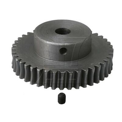 40T Steel Worm Gear Wheel 1:40 Speed Ratio 8mm Bore Replacement for Worm Reducer
