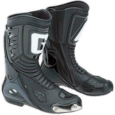 Gaerne GRW Aquatech Waterproof Motorcycle Boots Black CE Approved