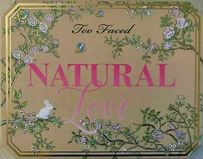 NEW TOO FACED Natural Love Ultimate Neutral Eye Shadow Palette FAST SHIPPING