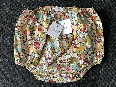 Bonpoint Cotton Floral Baby Bloomer Shorts BNWT 12 Months New With Tag RRP €40