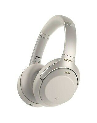 Sony WH-1000XM3 wireless headphones Silver - Great Noise-Cancelling Technology