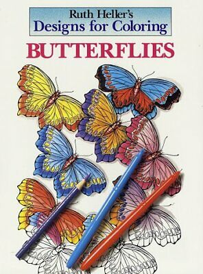 Butterflies (Designs for Coloring)