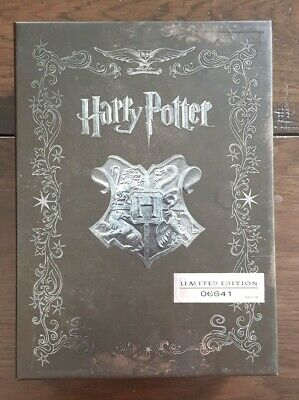 Harry Potter Complete 1-8 Limited Numbered Edition Bluray Box Set Collector Item