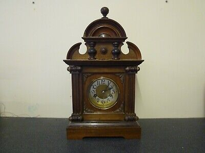 Antique German 8 day mantel clock