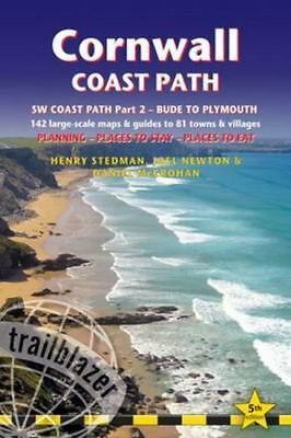 Cornwall Coast Path: [South-West Coast Path Part 2] includes 142 Large-Scale Wal