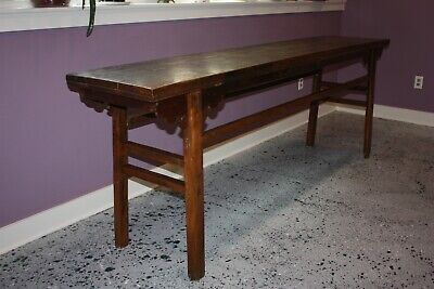 Asian Antique Alter Table