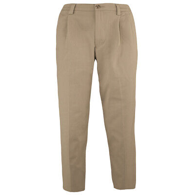 Dockers Men's Signature Pleated Relaxed Fit Pants