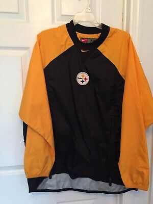 quality design 65fa4 19512 NIKE DOWN STORM-FIT Pittsburgh Steelers Jacket NWT Black M ...