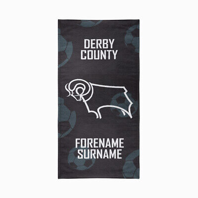 Derby County F.C. Beach Towel – Personalise with Any Name