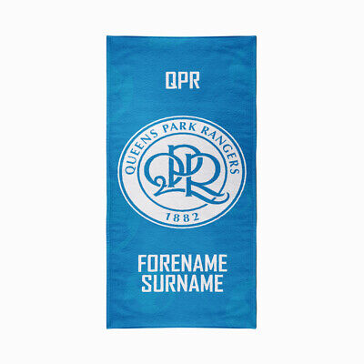 Queens Park Rangers F.C. Beach Towel – Personalise with Any Name