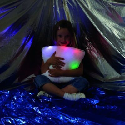 Calming Autism Sensory LED Light-Up Pillow Colour Changing Mood Cushion ADHD