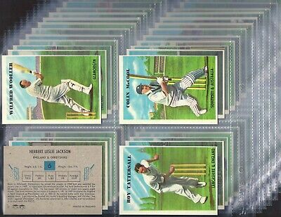 A&Bc-Full Set- Cricket Ers 1959 (X48 Cards) - Exc+++