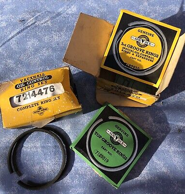 Vauxhall HB Viva Std Pison Ring Sets NOS