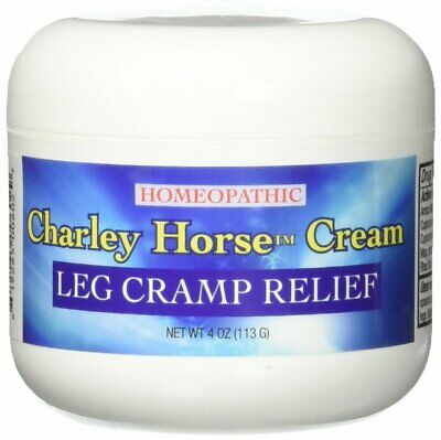Homeopathic Charley Horse Cream for Charlie Horse & Leg Cramps - New 4oz