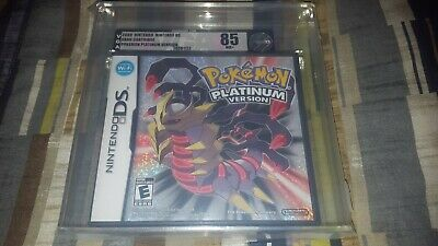 Pokemon: Platinum Version (Nintendo DS, 2009) NDS Brand New Sealed VGA 85 NM+