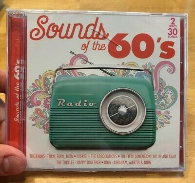Sounds of the 60's 2 Discs 30 Songs The Byrds - Cherish - The Associations