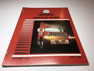 Lot Of 3-Churchill Truck Lines Route Guide/Flyers