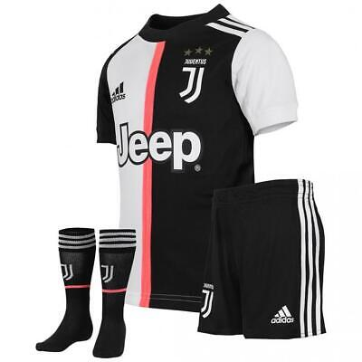 buy popular cf56f a9c4a RONALDO KIDS 7 Cr7 Juventus 19/20 Home Kit Socks Shorts Shirt New