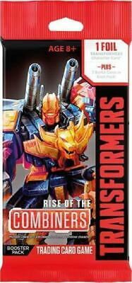 3x Transformers TCG Rise of the Combiners Booster Pack