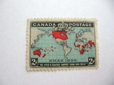 Canada 1898 Issue # 86 Mint, OG, small thin