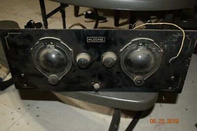 exceptionally rare vintage 1920's hilodyne radio chassis atwater kent grebe
