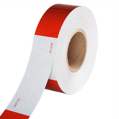"Conspicuity Tape DOT-C2 Reflective Trailer Safety Strip Sticker 2""x150' 1 Roll"