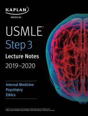 USMLE Step 3 Lecture Notes 2019-2020: Internal Medicine, Psychiatry [P‍.D‍.F]