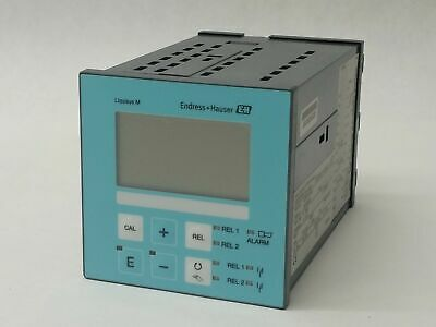 ENDRESS HAUSER LIQUISYS M COM223 DISSOLVED OXYGEN TRANSMITTER  -10 TO  60C 24v