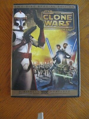 Star Wars THE CLONE WARS Two-Disc Special Edition DVDs
