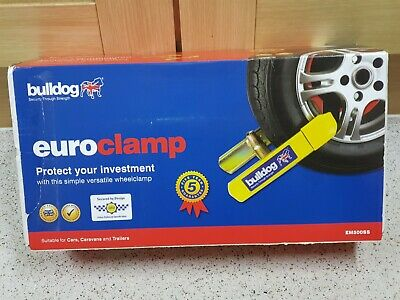 Bulldog Euro Clamp EM500SS For cars, Caravans, Trailers & Motorcycles