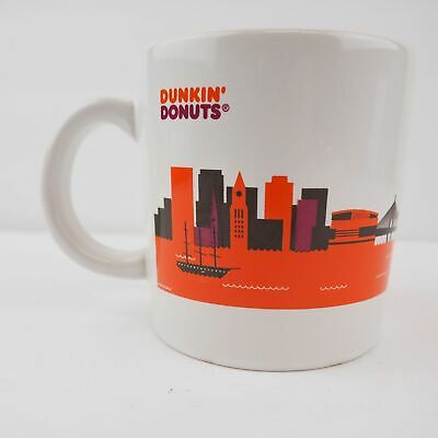 Dunkin Donuts 2012 Boston Coffee Cup - Good Condition