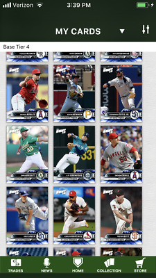 2019 Topps Bunt • BLUE Base Tier 4 Lot • YOU PICK 9 Digital Cards