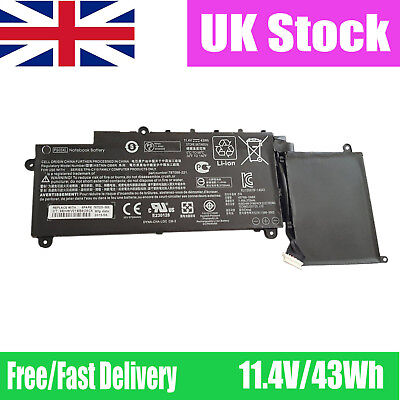 "Replacement HP Stream x360 11-P 11.6"" Battery PS03XL HSTNN-DB6R 787520-005 UK"