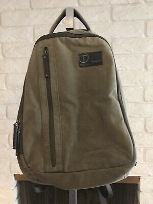 43d78a268b Tumi T-Tech Icon Marley Brief Backpack Laptop Rucksack Bag Army Green Canvas