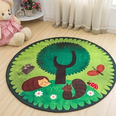 Activity Kids Soft Carpet Play Baby Game Rug Mat Crawling Floor Pad Blanket W