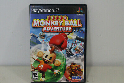 Super Monkey Ball Adventure Sony Playstation 2 PS2