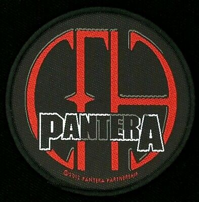 Pantera - CFH Patch - metal band merch