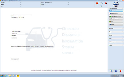 Soft for ODIS Service 5.1.3 activated for all 9 VAG brands - VW, Audi and so on