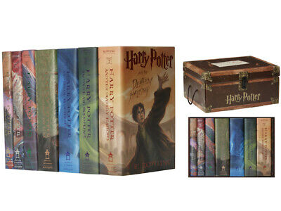 Harry Potter Books #1-7 Boxed Set: by J. K. Rowling HARDCOVER 2007, In a Trun...