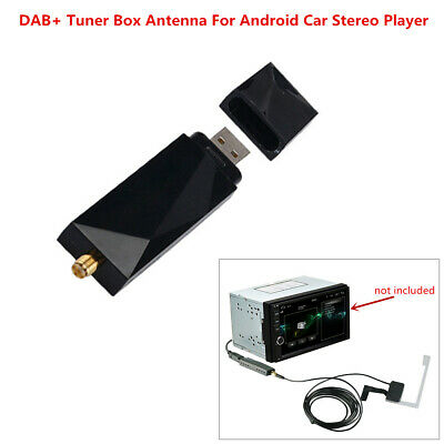 DAB+ Antenna with USB Adapter Radio Receiver for Android Car Stereo GPS Player